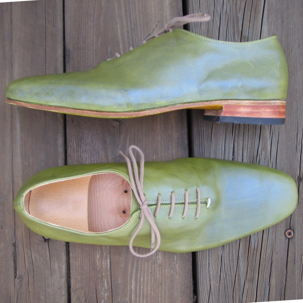 Green Oxfords